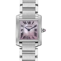 Cartier W51028Q3 Tank Francaise Small Size in Steel - on Steel...