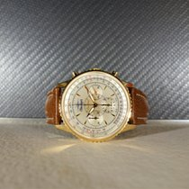 Breitling Montbrillant Navitimer Blue Angels 18k 38mm 1996...