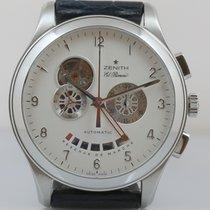 Zenith El Primero Grande Class Open Chronograph Stahl 03