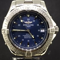Breitling Colt Automatic Steel 38MM, Blue Dial Automatic With Box