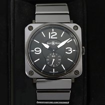 Bell & Ross Ceramic Quartz Black 39mm pre-owned BR S