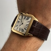 Cartier Santos Dumont Yellow gold 35mm White Roman numerals United States of America, New York, NYC