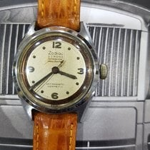 Zodiac Steel 30mm Manual winding pre-owned Singapore, 10 Admiralty Street Level 5 #05-12 Northlink Building (757695)