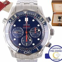 Omega 212.30.44.50.03.001 Steel Seamaster Diver 300 M 44mm pre-owned United States of America, New York, Smithtown