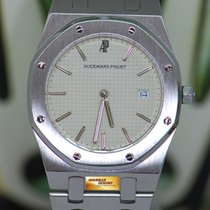 Audemars Piguet Royal Oak Stahl 33mm Silber Keine Ziffern