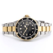 Rolex 40mm Automatic 2007 pre-owned Submariner Date Blue