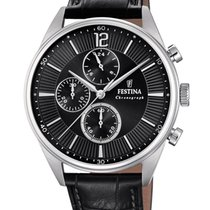 Festina Steel 41mm Quartz F20286/4 new