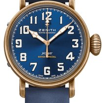 Zenith Pilot Type 20 Extra Special Bronze 40mm Blue Arabic numerals United States of America, New York, New York
