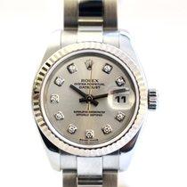 Rolex Lady-Datejust Acél 26mm Ezüst