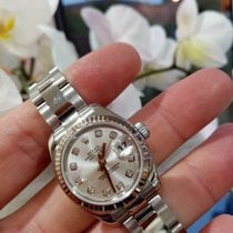 Rolex Lady-Datejust Stal 26mm Srebrny