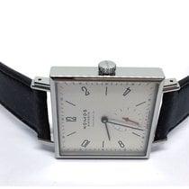 NOMOS Tetra Neomatik pre-owned 33mm White Leather