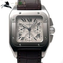 Cartier Santos 100 Steel 55mm White United States of America, California, Los Angeles