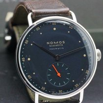 NOMOS Metro Neomatik pre-owned 35mm Blue