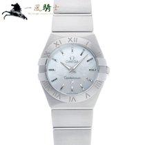 Omega Constellation Quartz Steel 24mm White