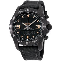 Breitling Steel Chronograph Black 48mm Chronospace Military