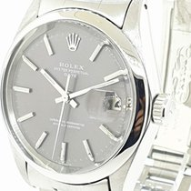 Rolex Oyster Perpetual Date Acero 34mm Plata Sin cifras Argentina, buenos aires