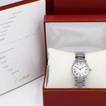 Cartier Ronde Solo de Cartier Stal 29mm Biały