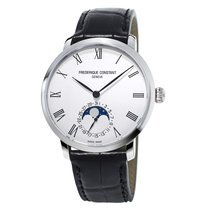 康思登 Manufacture Slimline Moonphase 鋼 42mm 銀色 香港, Hong Kong