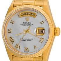 Rolex Day-Date 36 Yellow gold 35mm Mother of pearl Roman numerals United States of America, Texas, Dallas