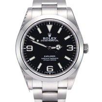 Rolex Explorer Acero 39mm Negro Árabes