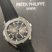 Patek Philippe Aquanaut Steel 40.8mm Black Arabic numerals United States of America, New York, Manhattan