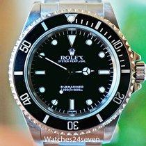 Rolex Submariner (No Date) Muy bueno Acero 40mm Automático