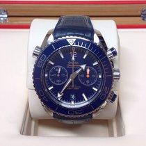 Omega Seamaster Planet Ocean Chronograph nouveau 2016 Remontage automatique Chronographe Montre avec coffret d'origine et papiers d'origine 215.33.46.51.03.001