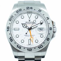 Rolex Explorer II Steel 42mm White No numerals Singapore, Singapore