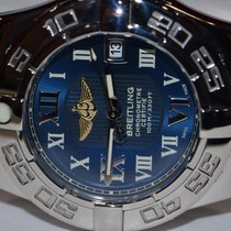 Breitling Galactic 30 pre-owned 30mm Blue Date Steel