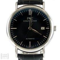 IWC Uhr Portofino Automatik Edelstahl Revision Ref. IW 356305