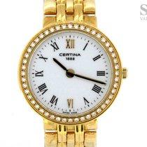 Certina 18K Gold Diamonds