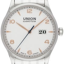 Union Glashütte Noramis Big Date Otel 40,00mm Argint