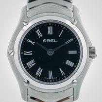 Ebel Classic Wave Ladies, Stainless Steel, Black Dial, Quartz,...