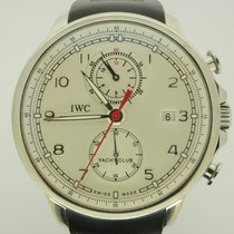 IWC Portuguese Yacht Club Chronograph tweedehands 43.5mm Staal