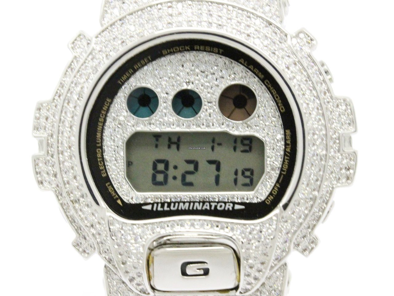 Casio G Shock Custom Zirconia Steel Quartz Mens Watch Dw6900 Fr 342 Gst 200cp 2a Kaufen Von Einem Trusted Seller Auf Chrono24