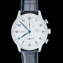 IWC Portuguese Chronograph Steel 40.9mm White United States of America, California, San Mateo