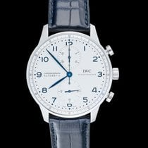 IWC Portuguese Chronograph new Automatic Watch with original box and original papers IW371446