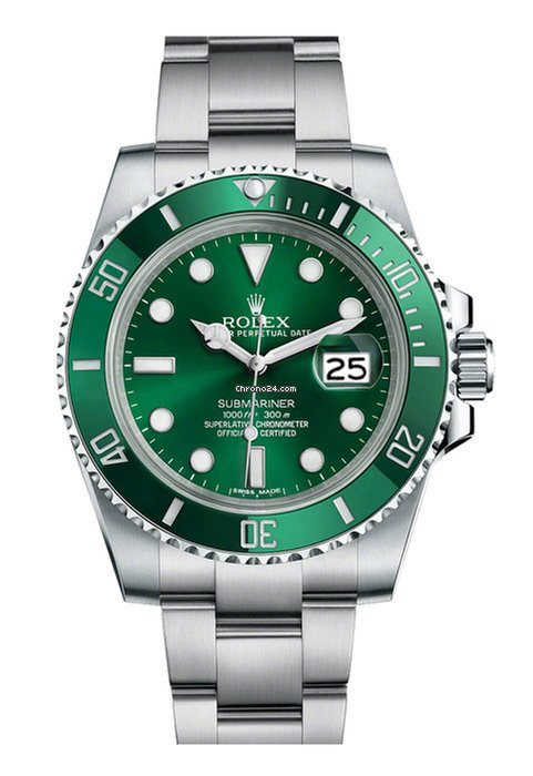 Rolex Submariner Green Date Hulk