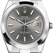 Rolex Datejust Rolex Datejust model 126300 41mm Rhodium  dial 2020 new