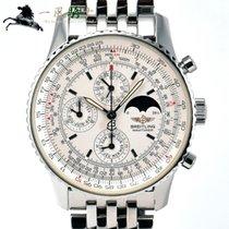 브라이틀링 스톱워치 43mm 자동 중고시계 Montbrillant Olympus 은색