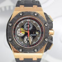 Audemars Piguet Royal Oak Offshore Grand Prix Or rose 44mm Noir Sans chiffres France, Cannes
