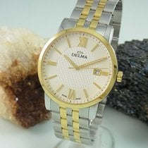 Delma 40mm Quartz pre-owned Champagne