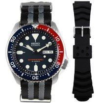 Seiko Steel 42mm Automatic SKX009J1 22ASBNATO420 new