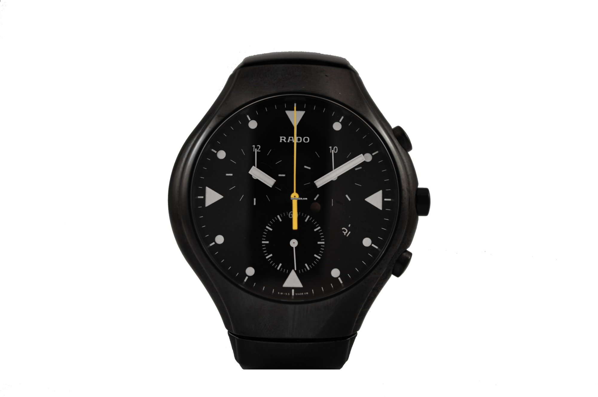 640a10ae2 Rado True Black Dial Chronograph High Tech Ceramic Men's Watch for $995 for  sale from a Private Seller on Chrono24