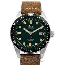 Oris Divers Sixty Five 42.00mm Зелёный