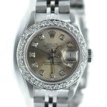 Rolex 69160 Steel 1992 Oyster Perpetual Lady Date 26mm pre-owned United States of America, New York, New York