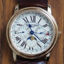 Frederique Constant Classics Business Timer Goud/Staal 40mm Champagne Romeins Nederland, MONSTER