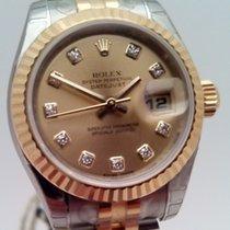 Rolex Lady-Datejust nuevo 2006 Automático Reloj con estuche y documentos originales 179173