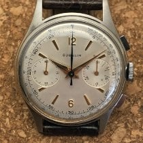 Gübelin Steel 36mm Manual winding pre-owned