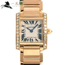 Cartier Tank Française pre-owned 25mm Silver Yellow gold